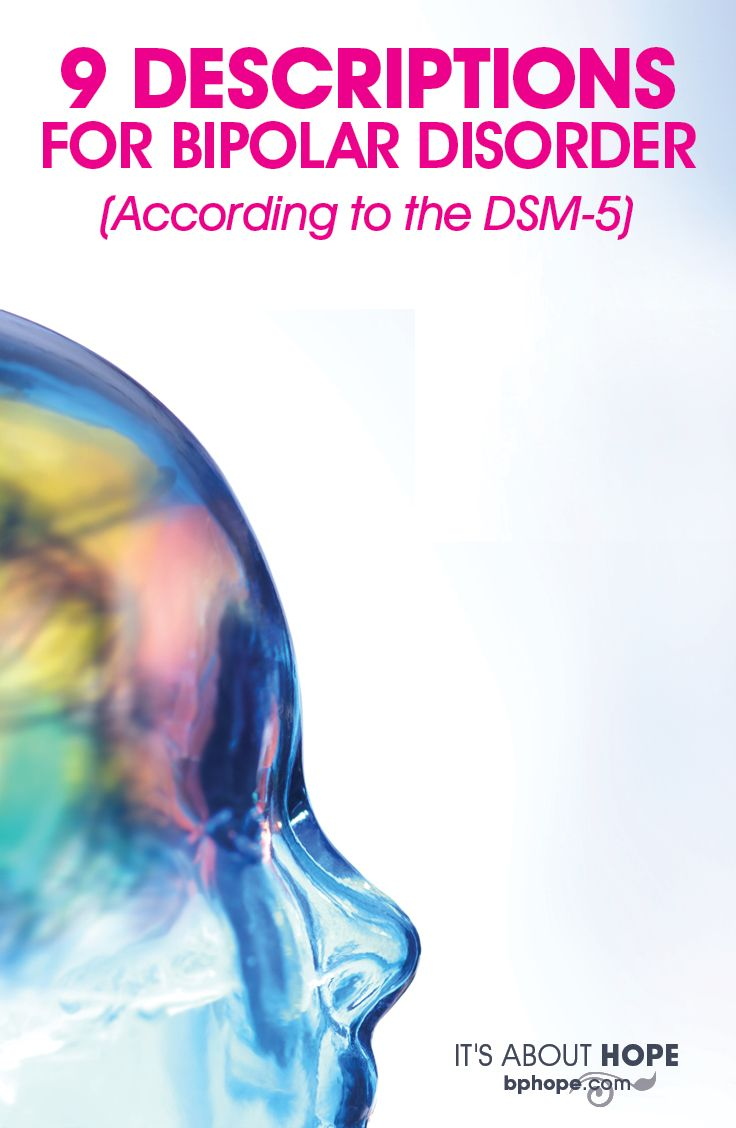 The latest edition of the Diagnostic and Statistical Manual of Mental Disorders (DSM-5) lists these add-on descriptions for bipolar disorder.