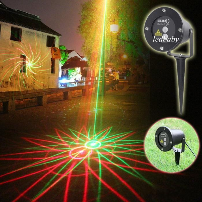 SUNY New 2016 Waterproof Garden Laser Lights 8 In 1 Sky Star Outdoor  Firefly Stage Lighting