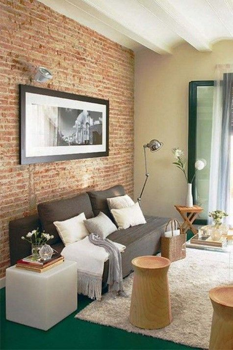 ComfyDwelling Blog Archive 60 Stylish Brick Walls Ideas For A Living Room