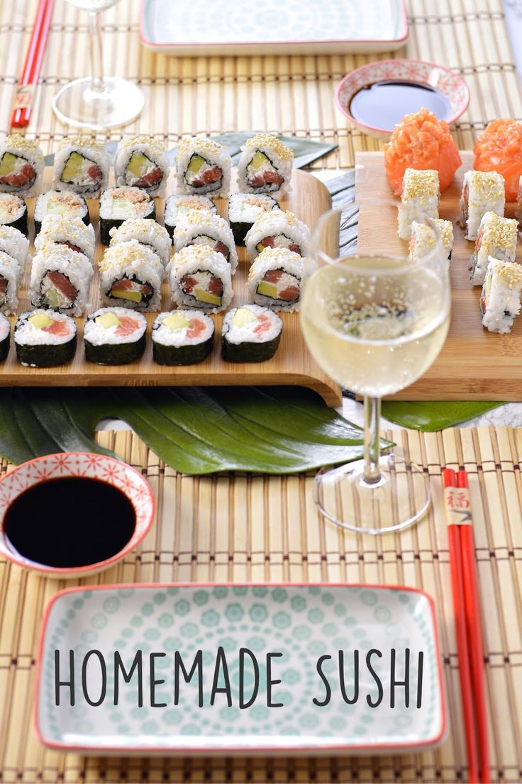 Sprinkles Dress: Homemade sushi - uramaki e futomaki