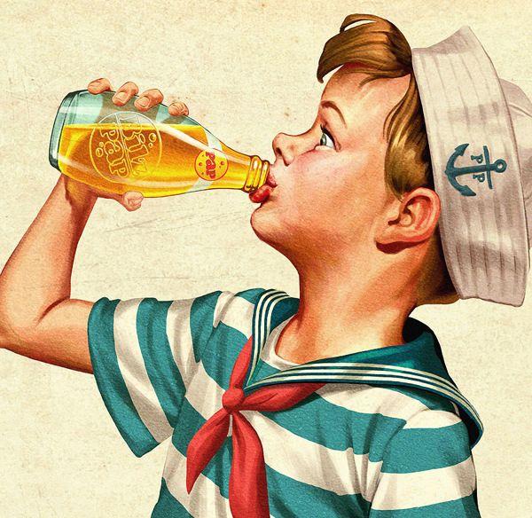 Vintage Illustrations by Oscar Ramos