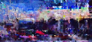 Keith Loreth Cosmic Art: Cosmic Harbour