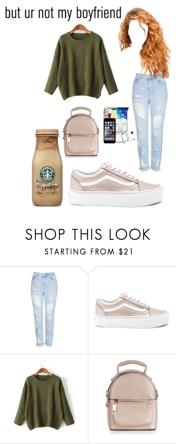 """""""😴📚"""" by jaidaxskye ❤ liked on Polyvore featuring Topshop, Vans, WithChic, New Look and AG Adriano Goldschmied"""