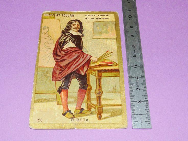 CHROMO CHOCOLAT POULAIN 1900-1905 ECOLE BON-POINT JOSE RIBERA L'ESPAGNOLET | Collections, Objets publicitaires, Chromos, découpis | eBay!