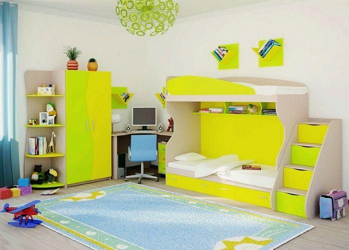 Удобные и красивые детские кровати