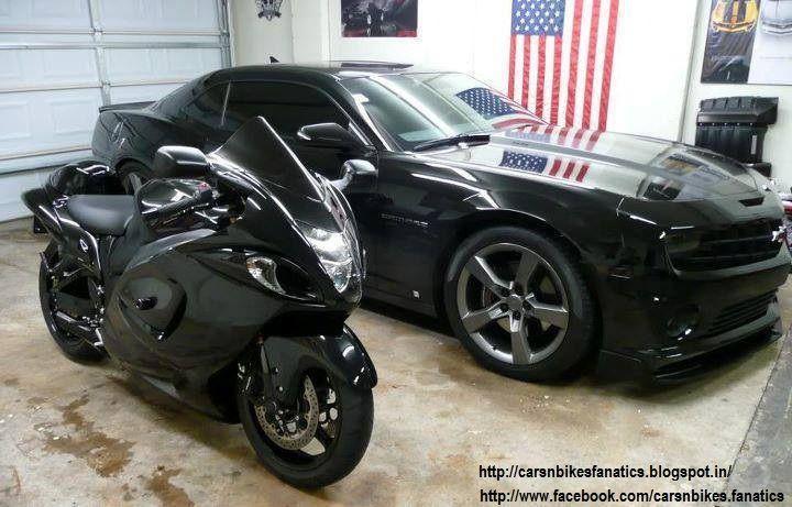 Car & Bike Fanatics: Hayabusa with Camaro