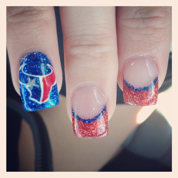 Texans Nails|| yes! Love them!!