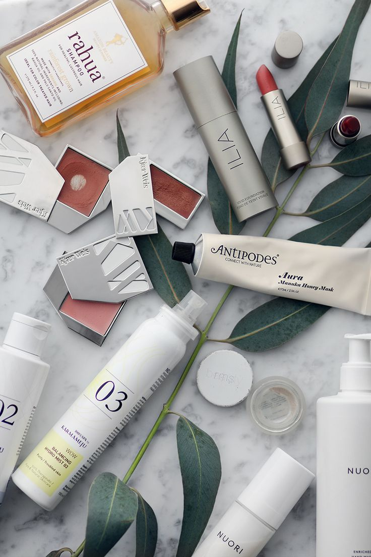 Favorite organic and natural Skincare & Make-Up Brands
