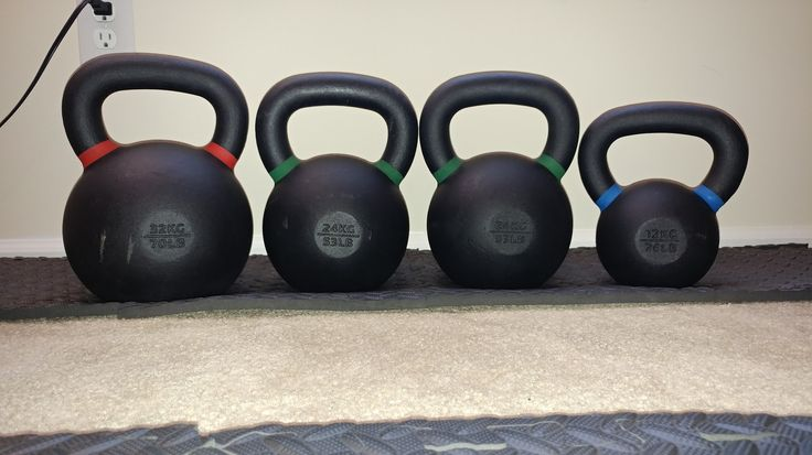 Just added a 24kg to the family #kettlebell #fitness #workout #exercise #fitfluential #crossfit #workouts #training #strength #gym