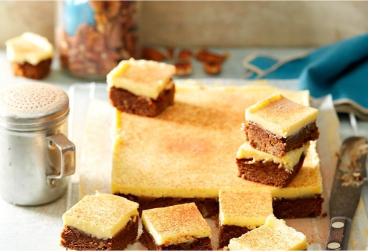 Mixed with pecans vanilla extract, this mocha slice is sure to be your new most lusted after sweet treat