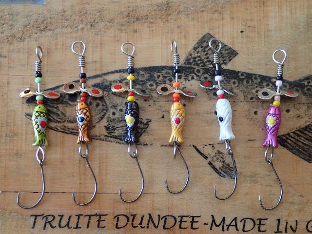 Truite Dundee - made in Gaule: Nouveau Devon métal « Poisson »