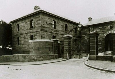 Maitland Gaol, the Governoer's house (Photo date unknown).v@e.
