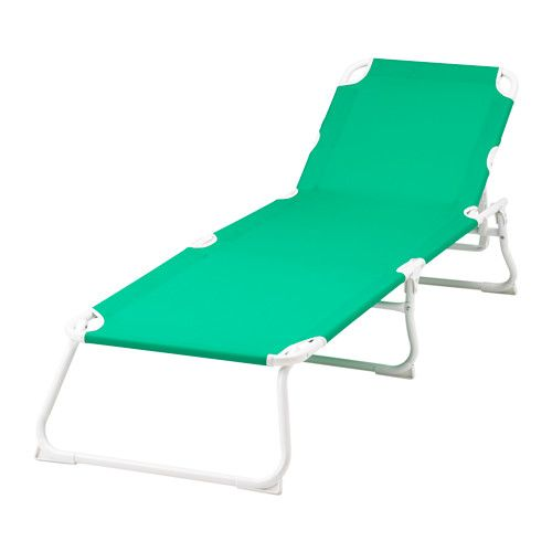 IKEA - HÅMÖ, Chaise, , Made of heavy polyester fabric, which is very durable.The chaise folds flat so it is easy to pack and carry. $30