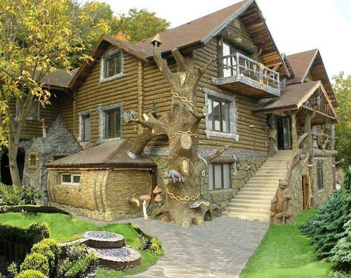 Log Mansion