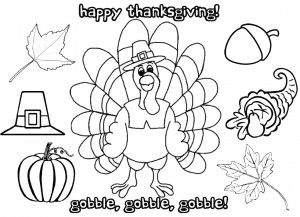 Coloring Pages Printable Thanksgiving Placemat - Worksheet ...
