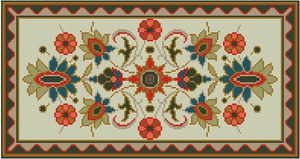 Gallery.ru / Фото #4 - Small and Simple Rug - azteca