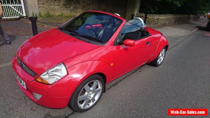 2005 FORD STREETKA 1.6 LUXURY RED LPG GAS CONVERTED LOW ONLY 58K MILES #ford #forsale #unitedkingdom
