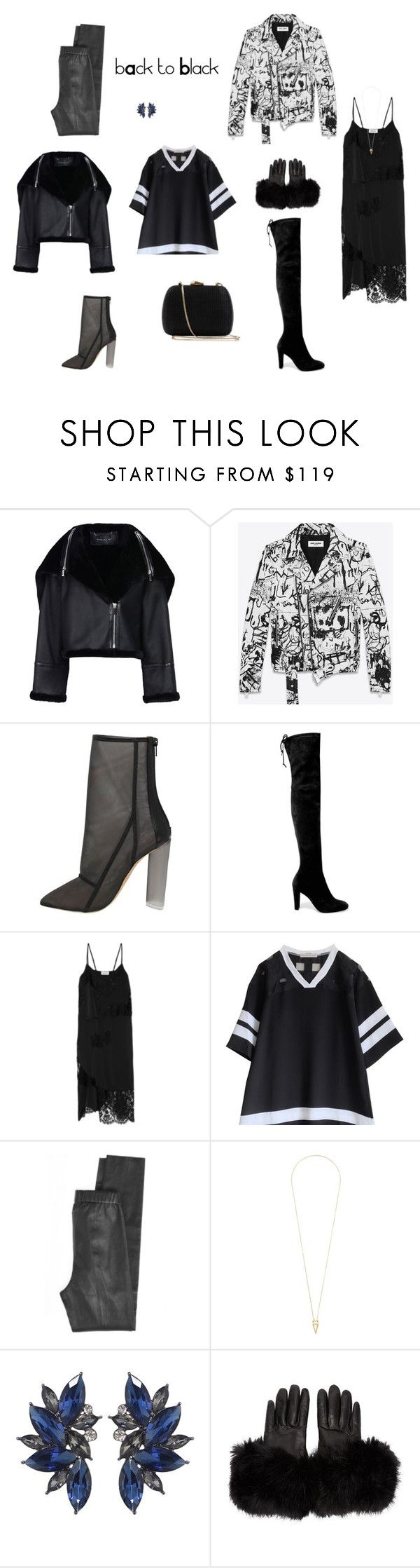 Без названия #4 by neiman-bags on Polyvore featuring мода, DKNY, Yves Saint Laurent, Barbara Bui, Calypso St. Barth, Stuart Weitzman, Serpui, Noor Fares and Calvin Klein Collection