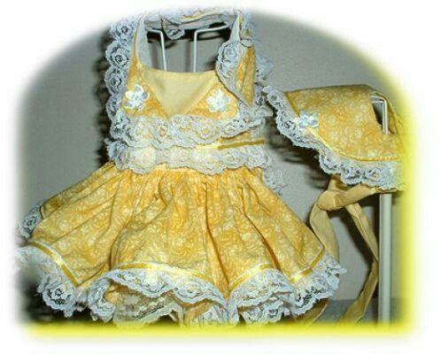 Petite easter yellow dress