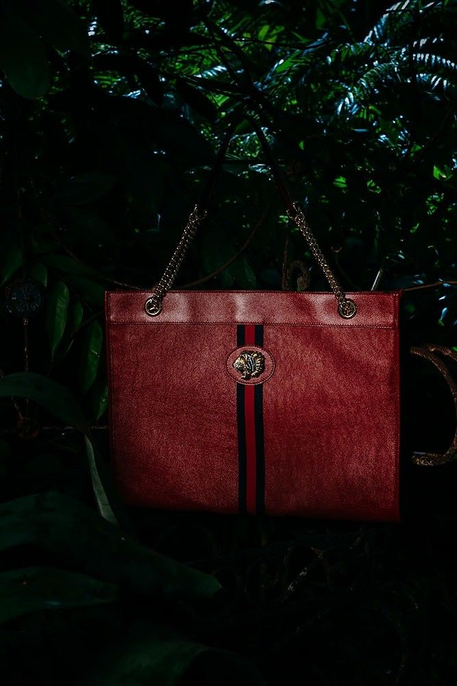 ef1e4eaa9eda GUCCI Rajah Large Tote in Red   Bags in 2019   Gucci tote bag, Bags ...