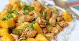 ananaszos csirke