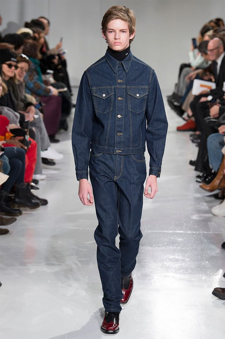 Raf Simons made his debut for Calvin Klein during New York Fashion Week.