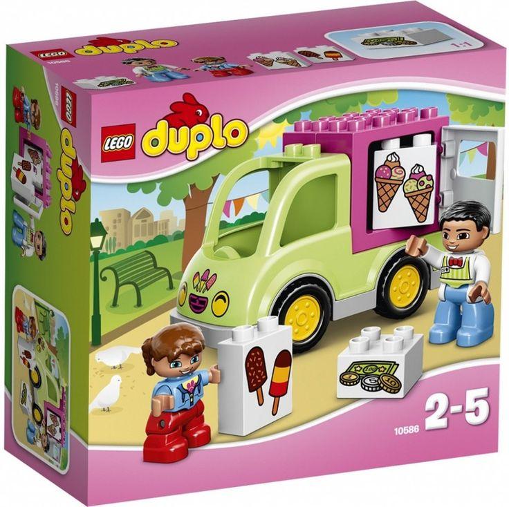 Lego Duplo 10586 Zmrzlinářská dodávka - 0