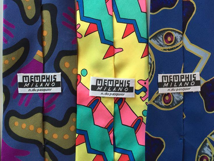 Memphis-slipsar av Nathalie du Pasquier