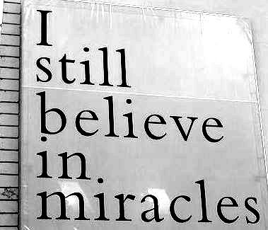 Does belief in miracles lead to a belief in a God that loves some and not others?