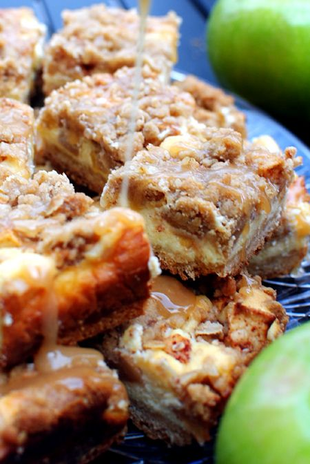 thebakedbeen: apple pie cheesecake bars [and holiday nights with old friends]