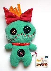 Disney Pook A Looz Scrump Plush Lilo's Doll from Lilo Stitch