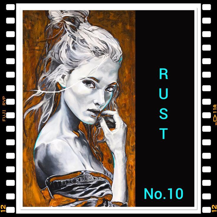 Rust and oil. Artist Mona Lian. NAMOART