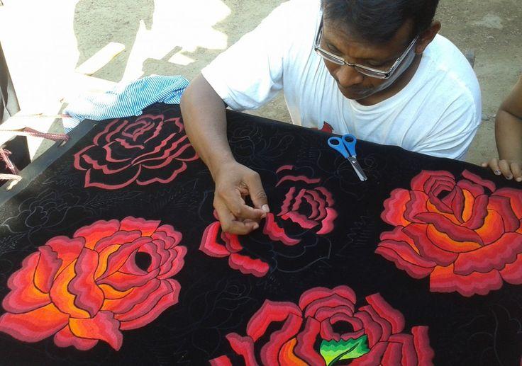 Los bordadores: entre el lienzo, sombras y matices (Especial)   ORO :: Organización Radiofónica de Oaxaca