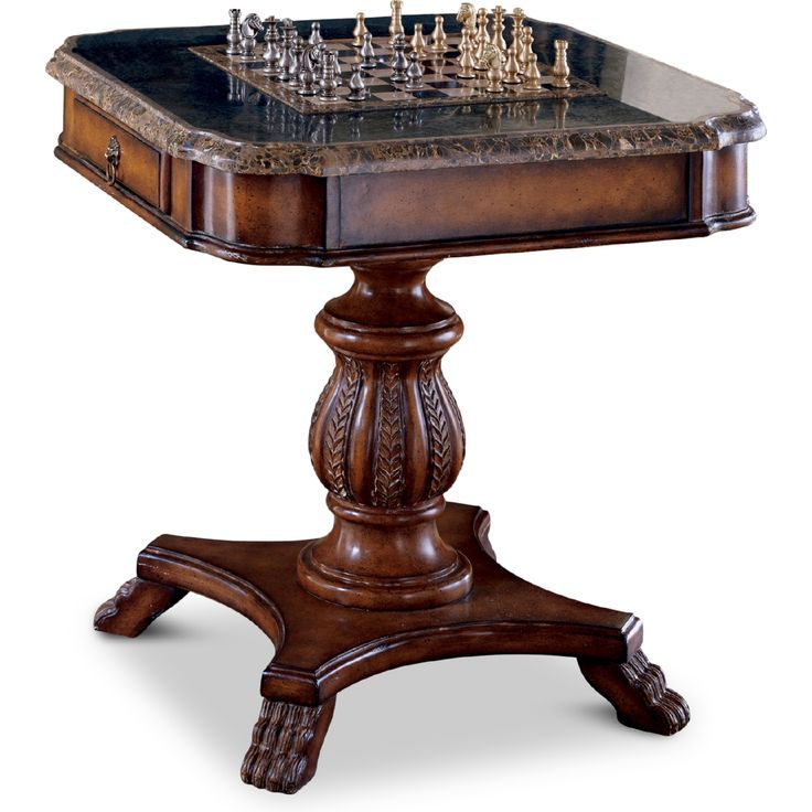 Share and Save $5 Off Any Order Over $99. (excludes a few products) Butler Specialty Fossil Stone Game Table #dynamichome