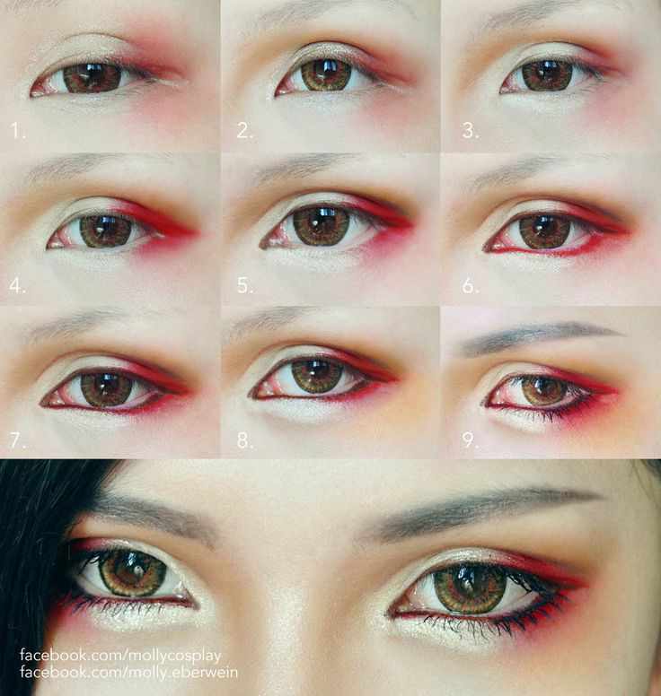 Cosplay Eyes Makeup by mollyeberwein.deviantart.com on @DeviantArt