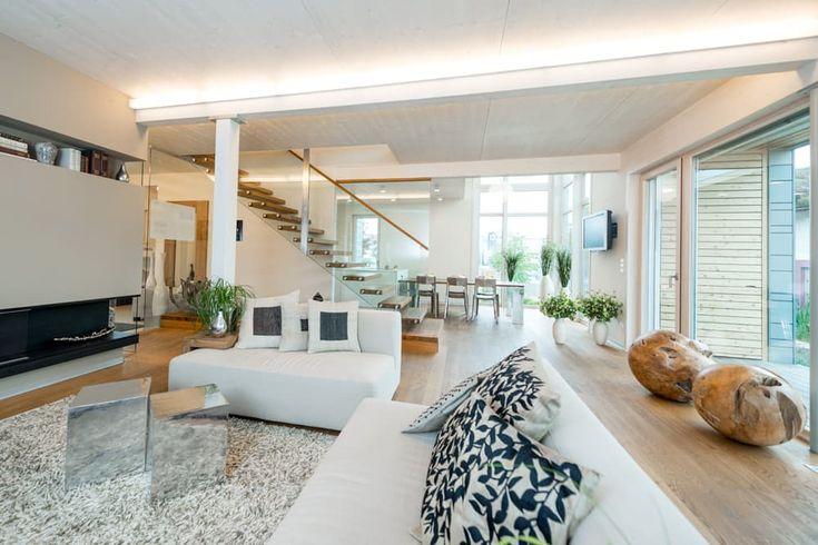 55 best individuelle treppen im eigenheim images on pinterest. Black Bedroom Furniture Sets. Home Design Ideas