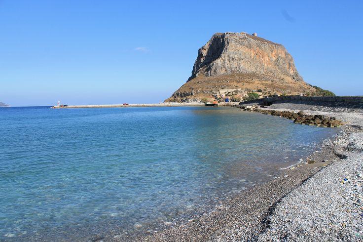 Λιμάνι Μονεμβασιάς (Monemvasia Port) in Monemvasia, Peloponnese, Greece