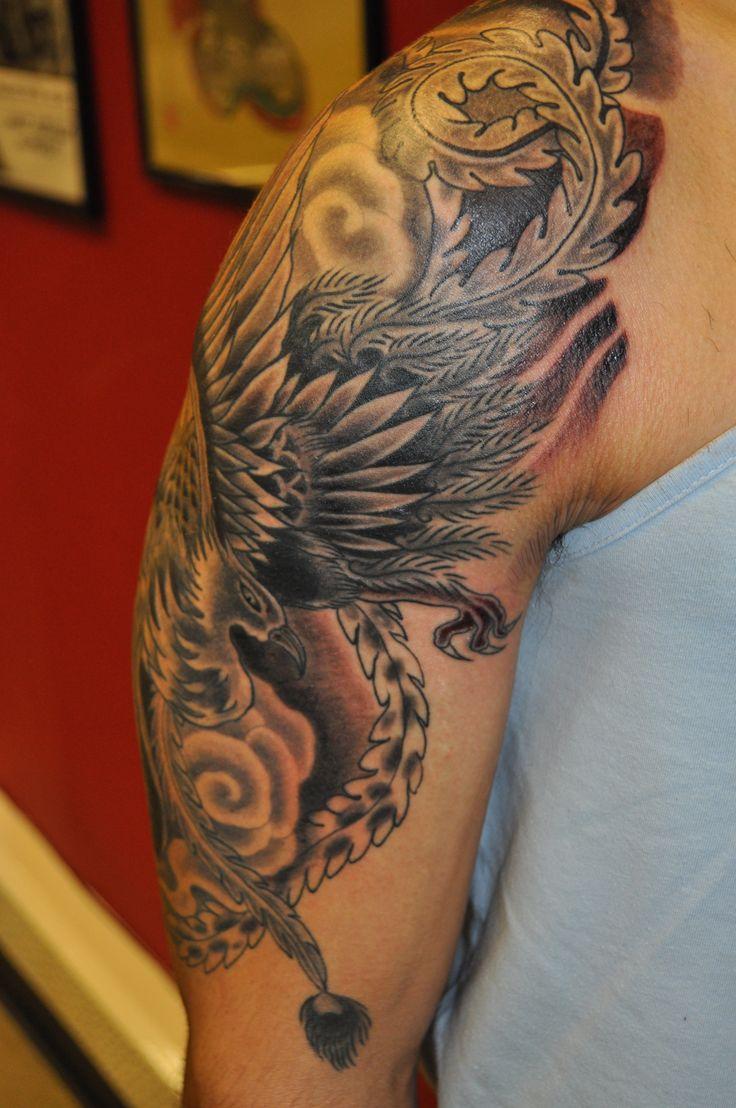 Phoenix tattoo for men - Phoenix Tattoo Designs For Men Hollywoods Tattoo Design