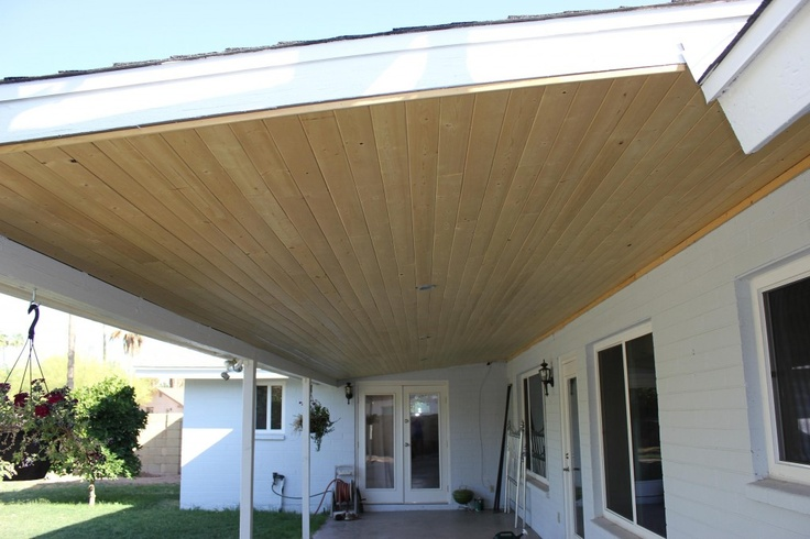 Exceptional Tongue And Groove Patio Ceiling | DIY | Pinterest | Ceiling, Patios And  Outdoor Living