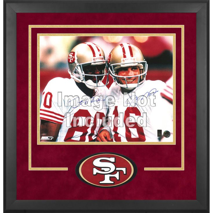 "San Francisco 49ers Fanatics Authentic 16"" x 20"" Deluxe Horizontal Photograph Frame with Team Logo - $179.99"
