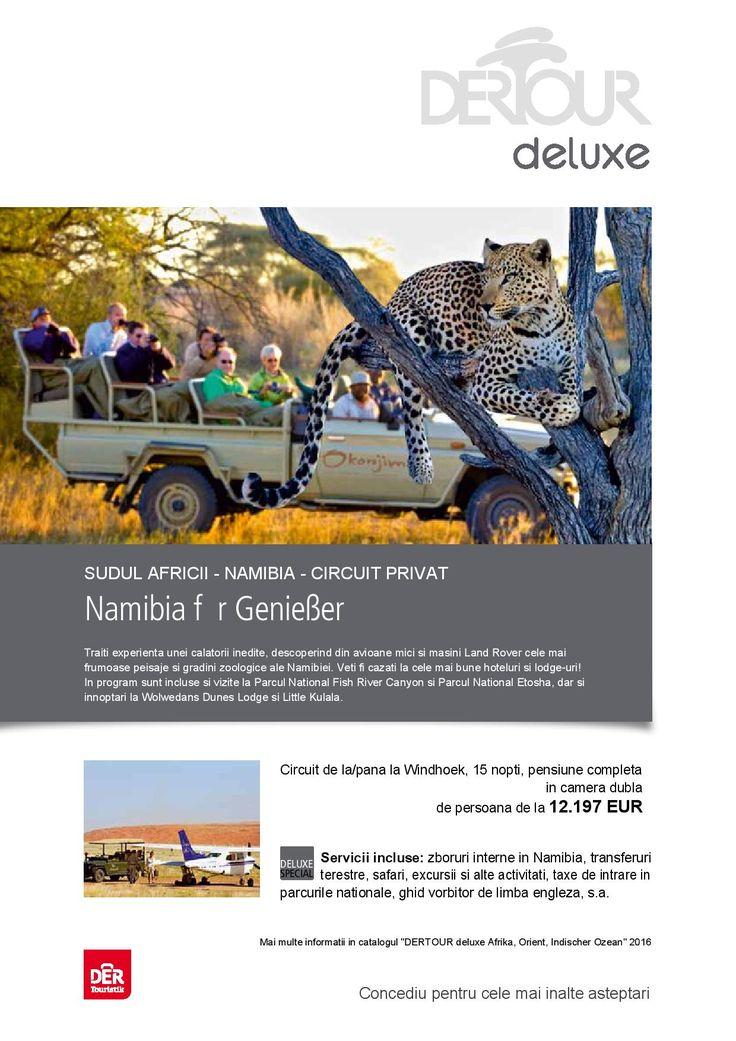 Circuit Privat Namibia - Traiti experienta unei calatorii inedite descoperind cele mai frumoase peisaje si gradini zoologice ale Namibiei http://bit.ly/29k0RGY #circuit #vacanta