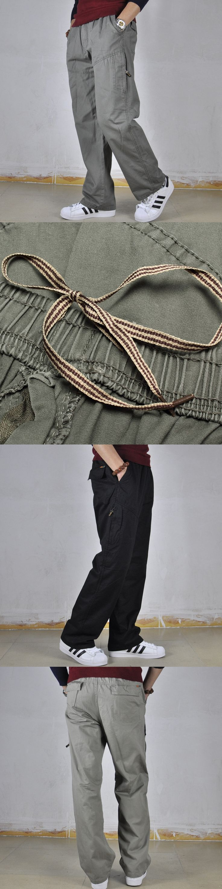 Mens Harem Pants 2017 Men's Fashion Personality Dress Leisure Plus Size Mallas Fitness Hombre Trousers