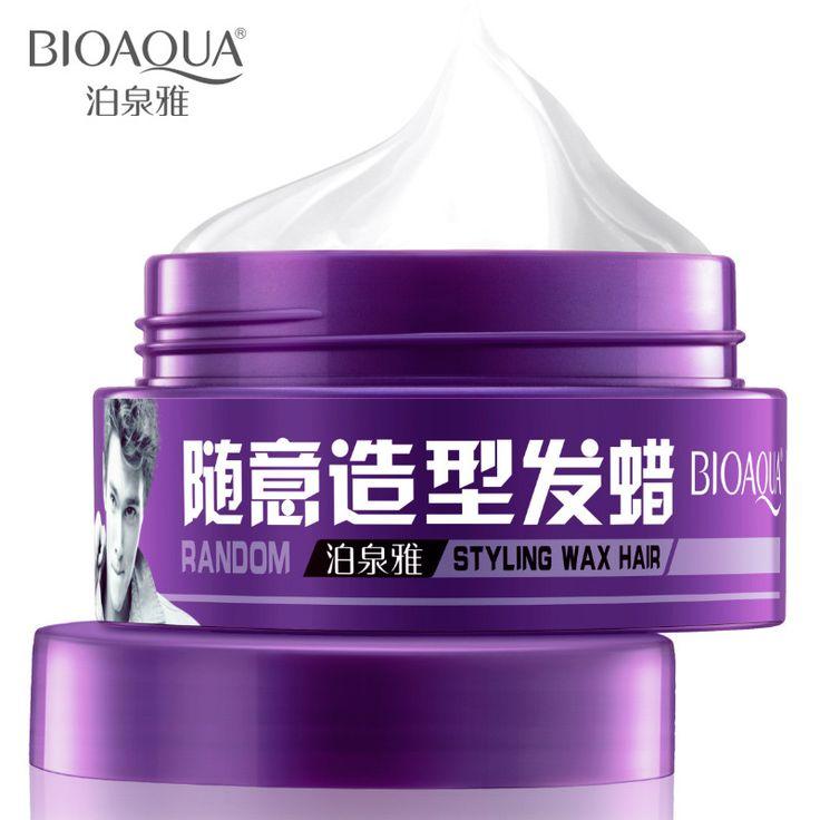 BIOAQUA Men 100g hair wax,long-lasting moisturizing fluffy stereotypes hair styling tools hair gel