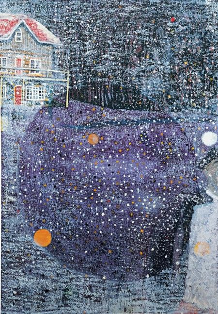 "thorsteinulf: "" Peter Doig - Charley""s space """