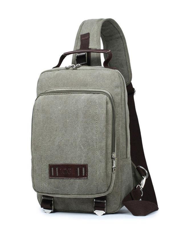 Canvas Travel One Shoulder Backpack