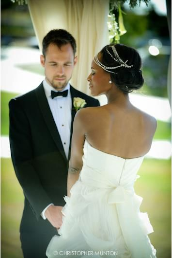 Andreas and Zani on their Wedding Day