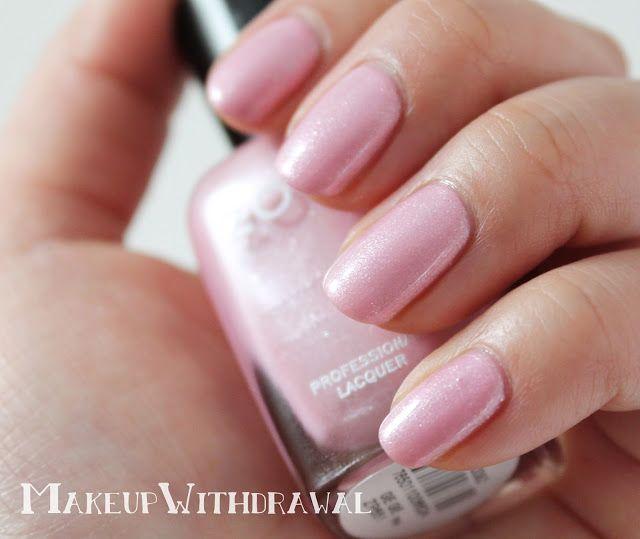 Pastel purple nails