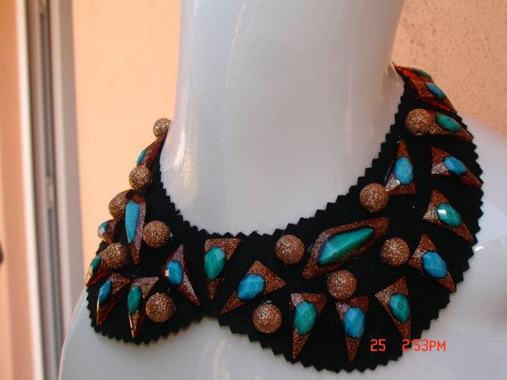 SALE 50 Collar / Collarette / Handmade / Special by SecretOfHands, $10.00