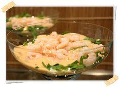 Ricetta Dukan: cocktail di gamberetti al curry (crociera) - http://www.lamiadietadukan.com/ricetta-dukan-cocktail-gamberi-curry/  #dukan #dietadukan #ricette