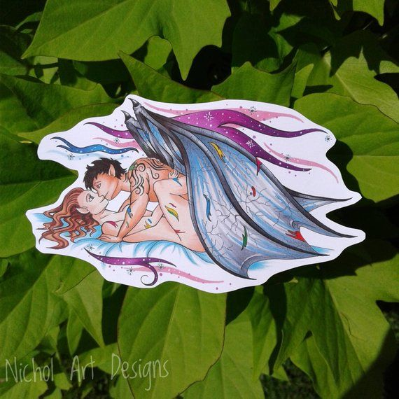 Chapter 55 Vinyl Sticker A Court Of Mist And Fury Feysand Feyre